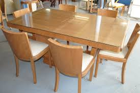 Art Deco Dining Room Table by Chair Black Glass Dining Room Table 98 On Ikea With And 6 Chairs