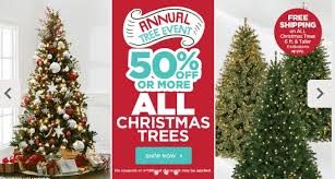 markdowns on trees from free shipping on