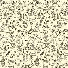 christmas pattern european christmas pattern lace material ai christmas vector