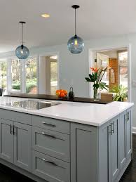 gray kitchen island breathingdeeply
