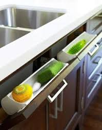 Space Saving Kitchen Sinks by Love This Idea For Under The Kitchen Sink Kitchen Pinterest