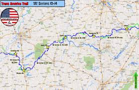 Trans Canada Highway Map by Trans America Trail Gpskevin Adventure Rides