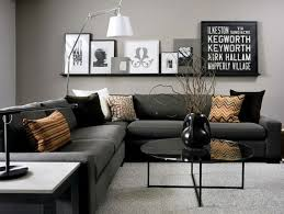 Black Sofa Living Room 69 Fabulous Gray Living Room Designs To Inspire You Grey Living
