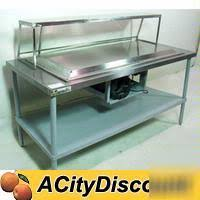 Commercial Buffet Table Aero Commercial Frost Top Serving Buffet Table