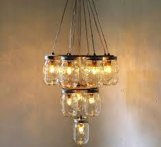 diy empty mason jars for a beautiful homemade lamp homemade