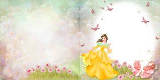 photobook template psd for girls little princess