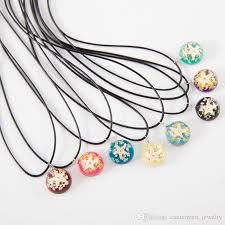 resin necklace wholesale images Wholesale starfish pendant necklace round luminous resin dried jpg