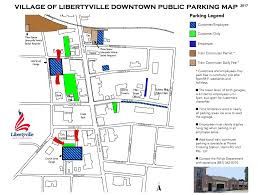 F Train Map Visitor Directory Mainstreet Libertyville