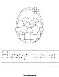 bunch ideas of easter worksheets for kindergarten for your format