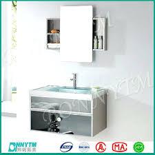 Sliding Bathroom Mirror Sliding Mirror Cabinet Bathroom View Medicine Cabinets Bathroom