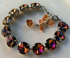 swarovski crystal stone necklace images Swarovski crystal necklaces harmony 39 s rainbow jpg