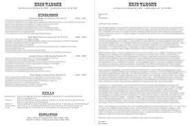 Images Of Good Resumes How Should A Professional Resume Look Haadyaooverbayresort Com