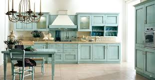 colored kitchen cabinets trend young green cream with dark island
