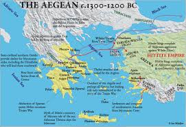 Map Of Ancient Greece The Art Of Ancient Greece And Aegean World Lessons Tes Teach Map