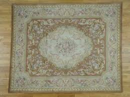12 u0027x18 u0027 oversize thick and plush floral trellis design savonnerie