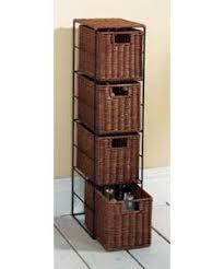 Bathroom Slimline Storage Tower by Dark Rattan Slimline Storage Bathroom Cabinet Review Rattan Cane