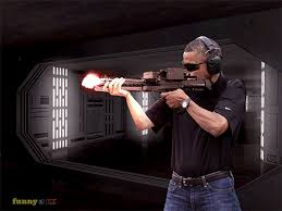 Obama Shooting Meme - 5 gifs of obama shooting things from andy maxwell and funny or die