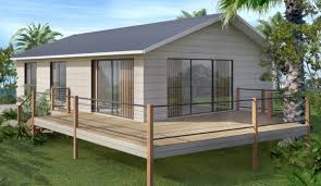 2 Bedroom Small home design on steel posts 2 bedroom house plans