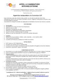 lettre motivation cuisine collectivité lettre de motivation candidature interne careoh org