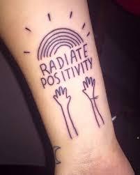 best 25 positivity tattoo ideas on pinterest think positive