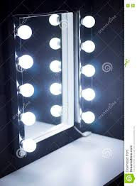 Mirror Lights Studio Makeup Table Mirror Lights Stock Photo Image 78071279