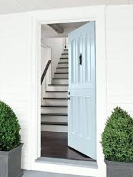 light and formal entry wall color cream trim color mayonnaise