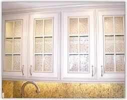 Cabinet Door Glass Insert Kitchen Cabinet Door Glass Inserts Home Design Ideas Throughout