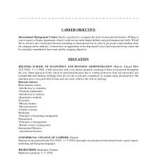 Sample Resume Objective Statements by Sample Resume Objective Statement Small Book Template Stunning