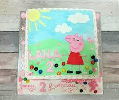 peppa pig cake peppa pig cake ayre s