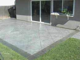 Cement Designs Patio Cement Ideas For Backyard Luxury Sted Concrete Patio Design