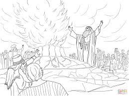 elijah called down fire from heaven super coloring в ш 4 илия