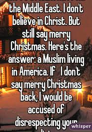here s a riddle i m from the middle east i don t believe in