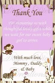 baby shower notes baby shower thank you sayings and quotes ggfgjou baby shower