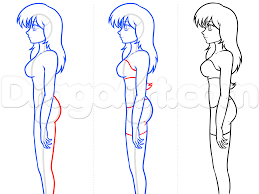 12 how to draw anime body figures