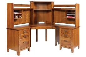 Corner Desks With Hutch Amish Furniture Selections By Schlabach Furniture In Ohio Amish