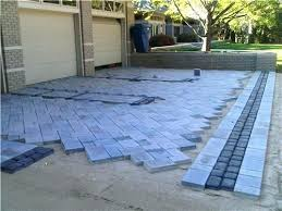 Cost Paver Patio Amazing Paver Patio Cost And Large Image For Wonderful Patio Blend