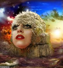 lady gaga in the edge of glory pictures