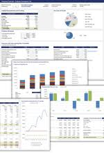 Financial Statements Templates For Excel Free Financial Statement Templates Spreadsheet123