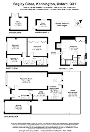 Simpsons Floor Plan 4 Bedroom Semi Detached House For Sale In Bagley Close Kennington
