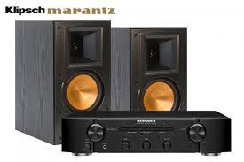 Bookshelf Speaker Amp Klipsch Rb 61 Ii Bookshelf Speakers And Marantz Pm5004 Amplifier