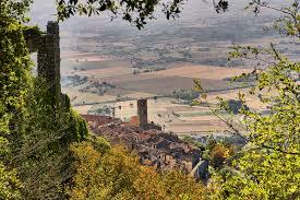 Cortona Italy Map by Elevation Of Cortona Province Of Arezzo Italy Maplogs
