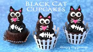 Childrens Halloween Cakes by Black Cat Cupcakes Fun Halloween Treats Youtube