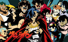 gurren lagann gurren lagann wallpapers wallpaper cave