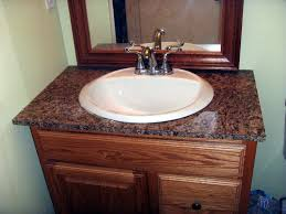 Bathroom Granite Countertops Ideas by Bathroom White Bathroom Vanity With Granite Countertop And Large