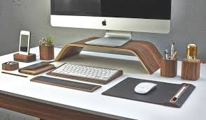 the desk collection by grovemade ergonomics just got homeli