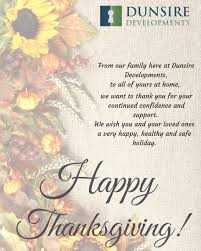 happy thanksgiving to you and your loved ones dunsire inc dunsireinc twitter