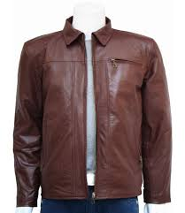 mens leather riding jacket brown leather men u0027s casual jacket u2013 leather jacket showroom