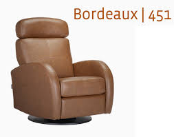 Recliner Rocking Chairs Nursery Dutailier Leather Glider Bordeaux 451 Swivel Recliner Glider