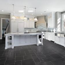 Kitchen Floor Tile Ideas With White Cabinets Black Kitchen Flooring Ideas 2017 With And White Floor Pictures