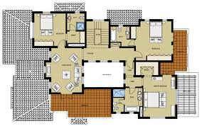 villa floor plans kerala villa plan elevation home design floor plans house single